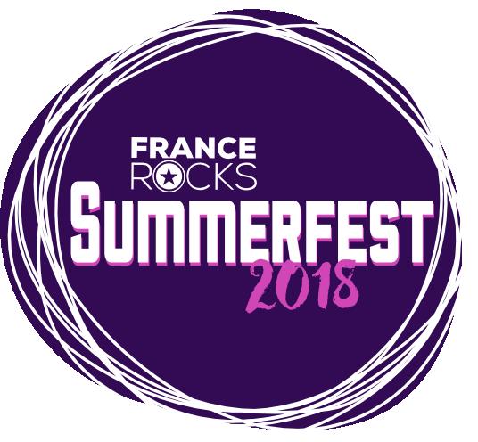 France Rocks Summerfest 2018 logo